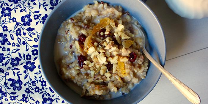 Fruity Whole Grain Breakfast Porridge