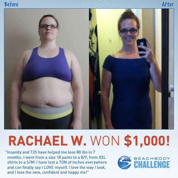 Beachbody Challenge Winner | Alesha Rose Fitness