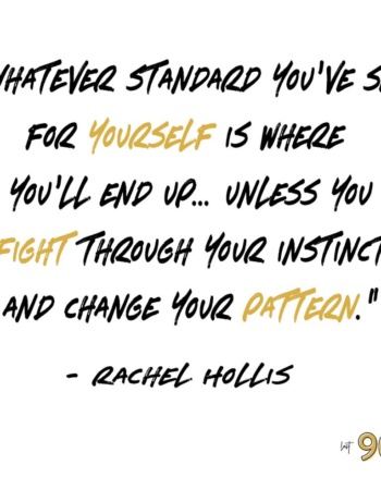 …you have the power to change…